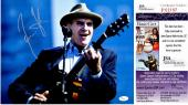 James Taylor Signed - Autographed Singer Songwriter Concert 11x14 inch Photo - JSA Certificate of Authenticity