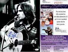 James Taylor Signed - Autographed Singer Songwriter Concert 11x14 Photo - JSA Certificate of Authenticity