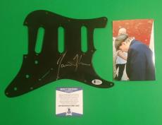 James Taylor Signed Fender Strat Stratocaster Guitar Pickguard Photoproof Bascoa
