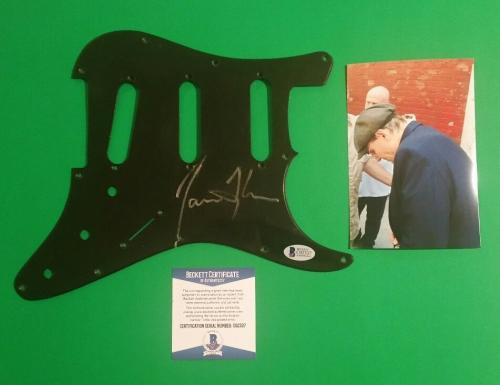 James Taylor Signed Fender Strat Stratocaster Guitar Pickguard Photoproof Bascoa