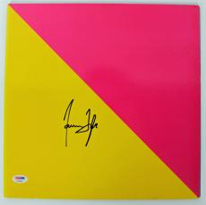 James Taylor Signed Flag Album Cover Autographed PSA/DNA #AB43062
