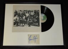 James Taylor Signed Framed 1976 In the Pocket 18x24 Record Album Display