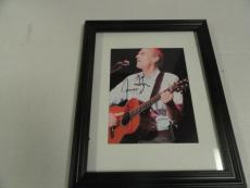 James Taylor Signed Framed 8x10 Photo Sweet Baby James Legend Rare