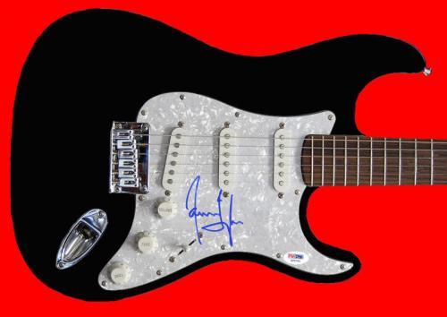 James Taylor Signed Guitar Autographed PSA/DNA #X29761