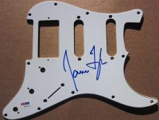 James Taylor signed Guitar Pick Guard Pickguard PSA/DNA auto