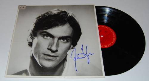 JAMES TAYLOR signed (JT) RECORD ALBUM LP *SWEET BABY JAMES* W/COA