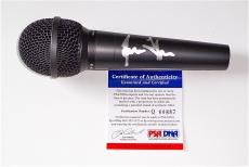 James Taylor Signed Microphone Psa Coa Q60887