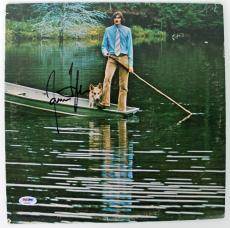 James Taylor Signed One Man Dog Album Cover PSA/DNA #AB43063