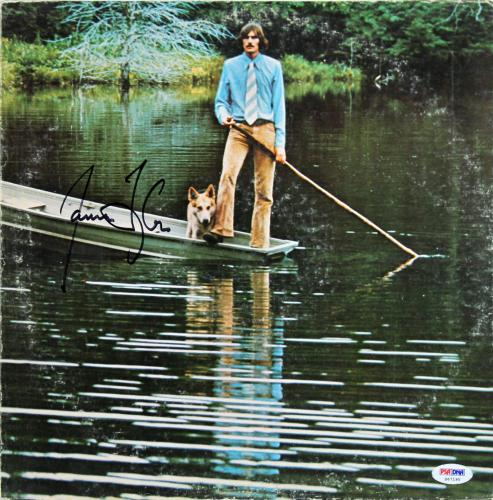 James Taylor Signed One Man Dog Album Cover PSA/DNA #S67195