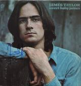 James Taylor Signed Sweet Baby James Record Album Jsa Coa R18304