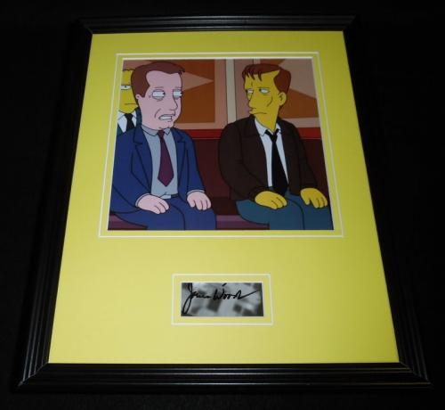 James Woods Signed Framed 11x14 Photo Display Family Guy The Simpsons B