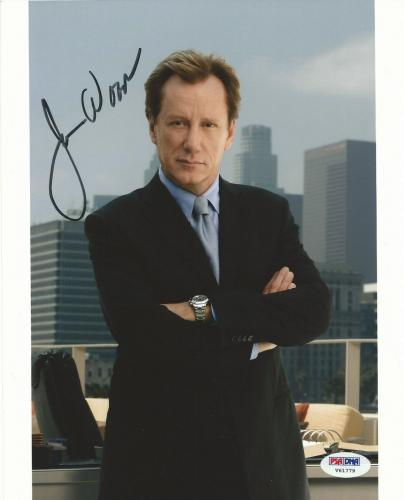 James Woods Signed Shark 8x10 Photo PSA/DNA COA Once Upon a Time in America Auto