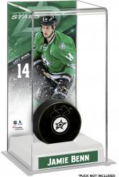 Jamie Benn Dallas Stars Deluxe Tall Hockey Puck Case