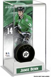 Jamie Benn Dallas Stars Deluxe Tall Hockey Puck Case