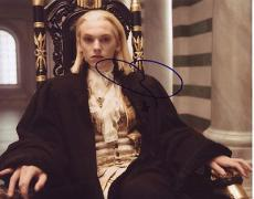 JAMIE CAMPBELL BOWER signed *TWILIGHT BREAKING DAWN* 8X10 photo Caius W/COA #8