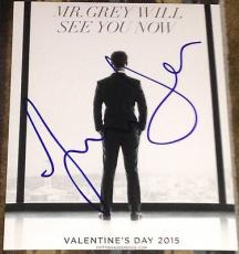 """Jamie Dornan Signed Autograph """"fifty Shades Of Grey"""" New Movie Poster 8x10 Photo"""