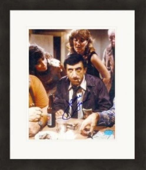 Jamie Farr autographed 8x10 Photo (Actor) #3 Matted & Framed