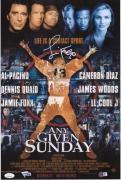 "Jamie Foxx Any Given Sunday Autographed 12"" x 18"" Movie Poster - JSA"