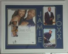 Jamie Foxx Autographed Signed 8x10 Framed 14x18 PSA/DNA