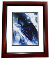 Jamie Foxx Signed - Autographed The Amazing SPIDER-MAN 2 11x14 inch Photo MAHOGANY CUSTOM FRAME - Guaranteed to pass PSA or JSA