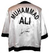 Jamie Foxx Signed Ali Cornerman Jacket