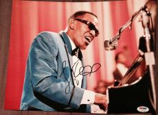 Jamie Foxx Signed Autograph Ray Charles Classic Piano 11x14 Photo Psa/dna Z97655