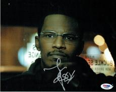Jamie Foxx Signed Collateral Authentic Autographed 8x10 Photo PSA/DNA #F02868