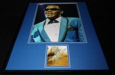 Jamie Foxx Signed Framed 16x20 Photo Display as Ray Charles