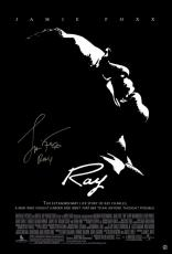 Jamie Foxx Signed Ray Poster