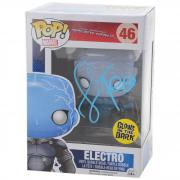 Jamie Foxx Spider Man 2 Autographed Electro #46 Funko Pop! - JSA