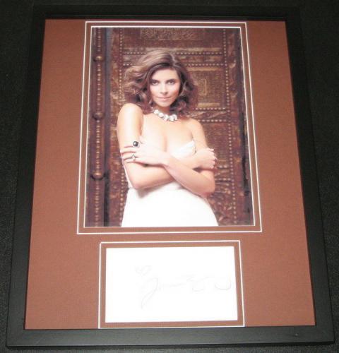 Jamie Lynn Sigler SEXY Signed Framed 11x14 Photo Display The Sopranos