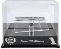 Jamie McMurray Daytona 500 2010 Champion 1:24 Die-Cast Display Case with Platform