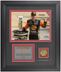 Jamie McMurray 2010 Indianapolis Motor Speedway Winner Framed 6'' x 8'' Photograph - Mounted Memories