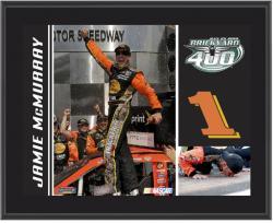 Jamie McMurray #1 Brickyard 400 Champion Sublimated 10 1/2 x 13 Plaque