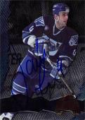 Jamie Rivers autographed Hockey Card (AHL, Worcester) 1996 Collectors Egde Future Legends #40