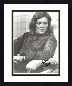 """JANE CURTIN - ORIGINAL CAST MEMBER on SNL - Best Known as ALLIE on Sitcom """"KATE & ALLIE"""" Signed 8x10 B/W Photo"""