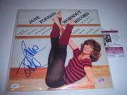 Jane Fonda Jane Fondas Workout Record Jsa/coa Signed Lp Record Album