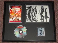 Jane Fonda Signed Framed 16x20 Barbarella DVD & Photo Display JSA