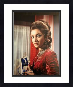 Jane Seymour Signed Autograph 8x10 Photo - Bond Live And Let Die, Roger Moore