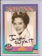 Jane Wyatt Signed Starline Hollywood card - Pose 2