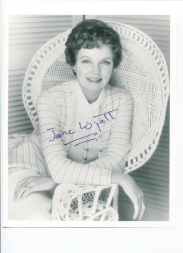 Jane Wyatt Star Trek Lost Horizon Father Knows Best Signed Autograph Photo