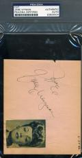 Jane Wyman 1943 Psa/dna Hand Signed Album Page Authenticated Autograph