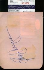 Jane Wyman Hand Signed Jsa Album Page Authentic Autograph