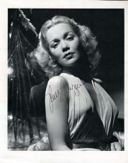 Jane Wyman Hand Signed Jsa Coa  8x10 Photo Authenticated Autograph