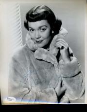 Jane Wyman Jsa Signed 8x10 Photo Authenticated Autograph
