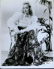 Jane Wyman Jsa Signed 8x10 Photo Certified Autograph
