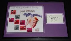 Jane Wyman Signed Framed 11x17 Photo Display Pollyanna