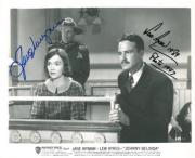 Jane Wyman/Lew Ayres Signed Johnny Belinda Authentic 8x10 Photo JSA #E51294
