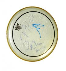 Janes Addiction Autographed Signed Concert Used Drum Head