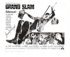 """JANET LEIGH """"GRAND SLAM"""" Passed Away 2004 - Signed 10x8 B/W Photo"""